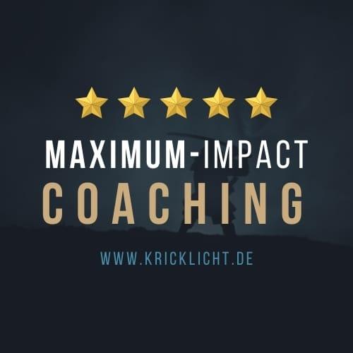 kricklicht coaching erfolg